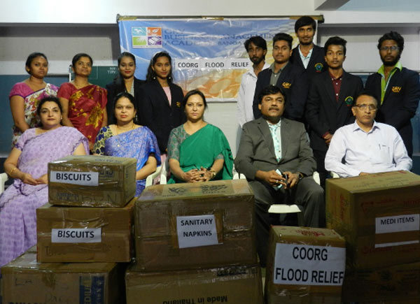 GRV Contribution for Coorg Flood Relief