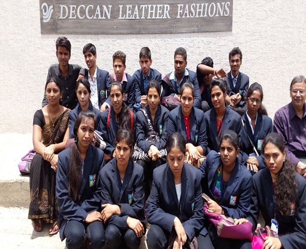 Industrial Visit to Deccan Leather Fashions