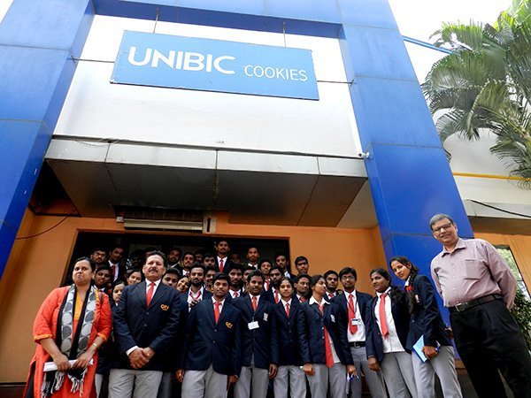 An industrial visit to UNIBIC factory in Bangalore